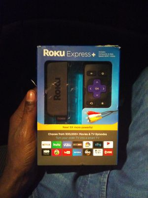 Roku Express + for Sale in Washington, DC
