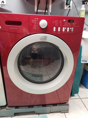 Red Frigidaire washer and dryer for Sale in Ellwood City, PA