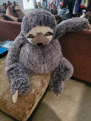 Big cuddly soft sloth for Sale in Land O Lakes, FL