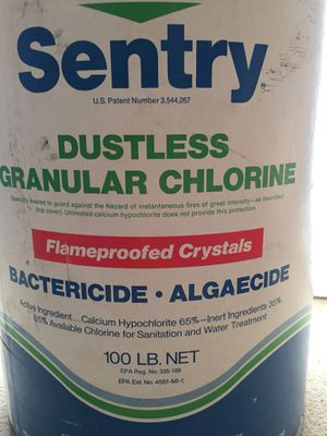 SWIMMING POOL CHLORINE. 100lbs for Sale in Tigard, OR