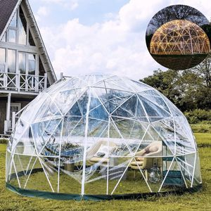 Garden Dome 9.5ft - Geodesic Dome with PVC Cover - Bubble Tent with Door and Windows for Sunbubble, Backyard, Outdoor Winter, Party for Sale in Downey, CA