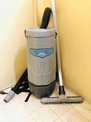 Raven Backpack Commercial Vacuum Cleaner for Sale in Tacoma, WA