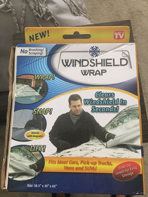 Windshield wrap for cars pick up trucks vans and suvs for Sale in Davenport, FL