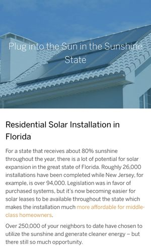 GO SOLAR FOR FREE for Sale in Lake Wales, FL