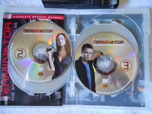 Terminator The Sarah Connor Chronicles DVD Steelbooks Season 1 & 2
