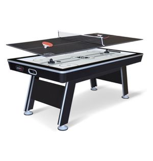 NHL 80 inch Air Powered Hover Hockey Table with Bonus Table Tennis Top New In Box for Sale in Austin, TX