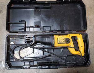 $60 dewalt corded Sawzall in case for Sale in Stockton, CA