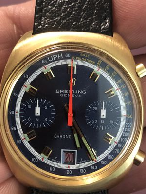 Breitling Chrono matic 18kt gold for Sale in North Riverside, IL