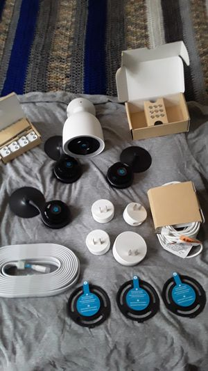 Brand New Nest Cam IQ (outdoor) + 3 Nest Cam Indoor Security Cameras for Sale in Raleigh, NC