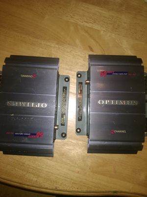 I have to amps for audio for car don't need them for Sale in Pittsburgh, PA