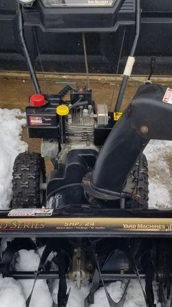 Yard Machines, Snow Blower for Sale in Washington,  DC