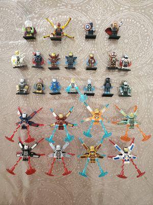 Iron Man. Thor. Spiderman. Captain America. Lego for Sale in El Paso, TX