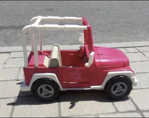 Doll Jeep can be used with American Girl dolls, My Generation or any 18in doll for Sale in East Los Angeles, CA