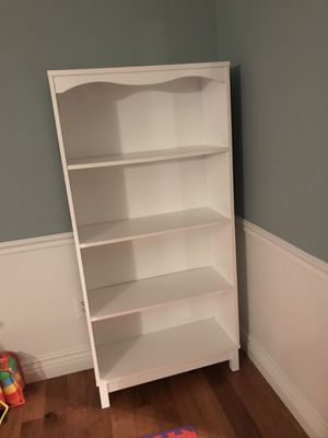 2 white bookcases for Sale in Oakton, VA