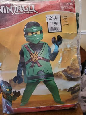 Ninjago Lloyd Costume sz.10-12 for Sale in Old Hickory, TN