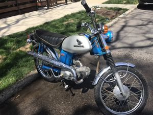 Vintage 1970 Honda CL70 in Sapphire Blue for Sale in Chicago, IL