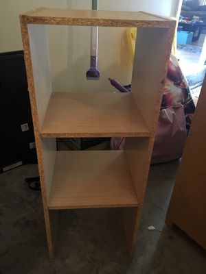STORAGE SHELVE SHELF BOOKCASE CUBBY CUBBIE, 1 foot wide, 1 foot deep, 2 feet 8 inches long for Sale in Fresno, CA
