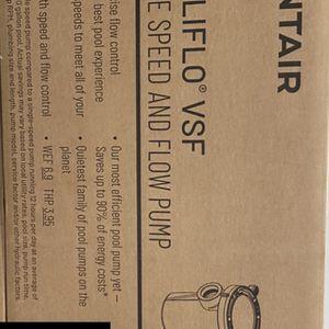 Pool Pump / Pool Motor - Pentair Intelliflo VSF Model # 011056 (mfg 12/2020) for Sale in Phoenix, AZ