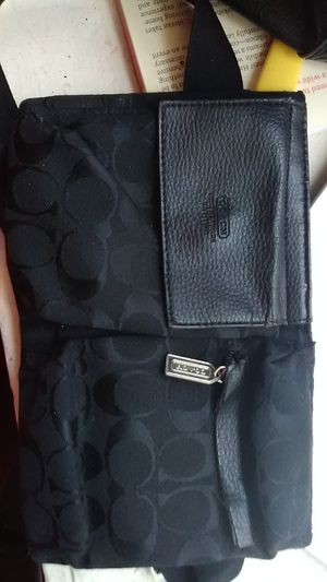 Black coach bag $65 OrBestOffer for Sale in Catonsville, MD