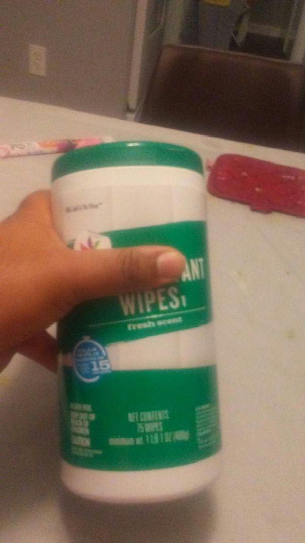 Disinfecting 75 CT for $13