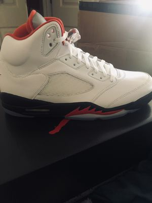 Jordan 5 fire red size 12 for Sale in Largo, FL