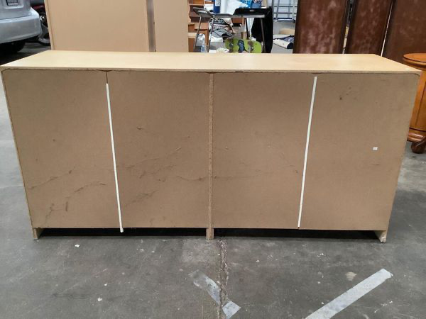 Six Drawer Pine Lowboy Dresser - Delivery Available
