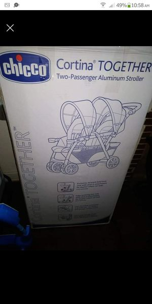 Chicco cortina 2 passenger stroller for Sale in Fresno, CA