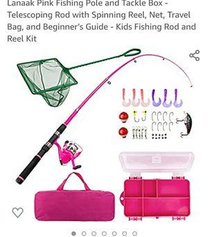 Fishing set little girl for Sale in Orlando, FL