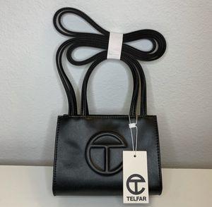 Telfar Vegan Leather Small Black Shopping Bag for Sale in Spokane Valley, WA
