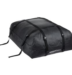 Amazon Basics ZH1705156 Rooftop Cargo Carrier Bag, Black, 15 cu. ft. for Sale in Chicago,  IL