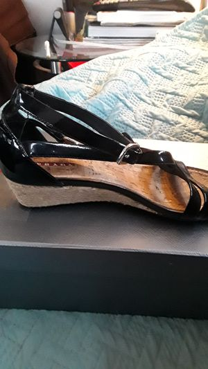 Authentic Prada wedge sandals size 8 1/2 for Sale in Davenport, FL