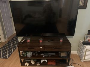 TV stand with mount(TV not for sale) for Sale in Clarksville, TN