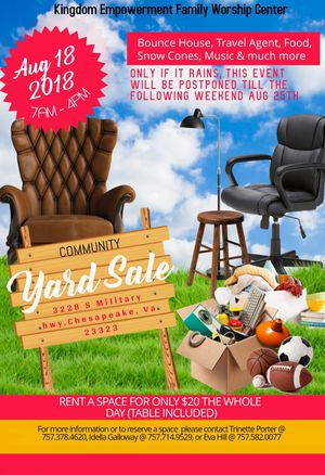Yard sale for Sale in Chesapeake, VA