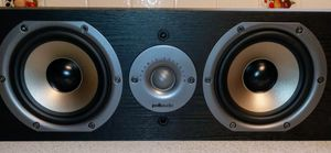 "Polk Audio CS10 Center Channel Speaker with Dual 5-1/4"" Drivers (BLack) Very Clean for Sale in Peoria, AZ"
