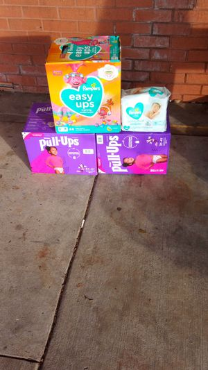 Huggies and pampers diapers and pullups. for Sale in Atlanta, GA
