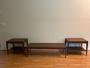 Authentic mid century coffee table and end tables for Sale in Melbourne, FL