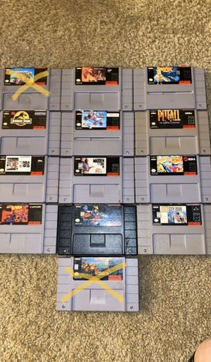 Super Nintendo Games for Sale in Columbus, OH
