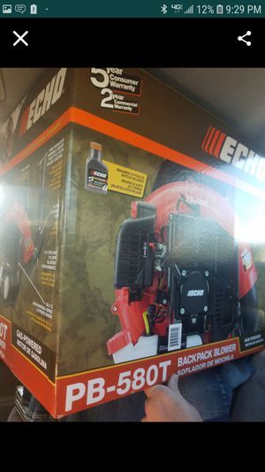 Echo 580-T backpack blower for Sale in Tempe, AZ
