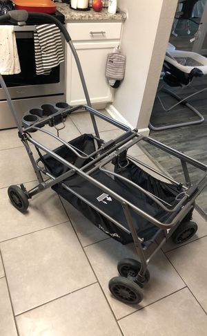 Joovy TwinRoo+ stroller with adapters for Sale in Dallas, TX