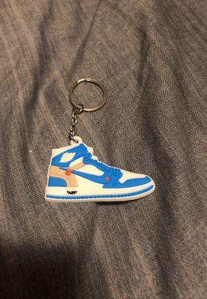 OFF WHITE UNC Jordan 1 keychain for Sale in Park City, UT