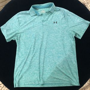 Blue UnderArmour collard shirt. for Sale in Rockville, MD