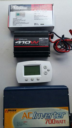 Thermostat split and heat pump, DC AND AC TRANSFORMERS for Sale in Orlando, FL