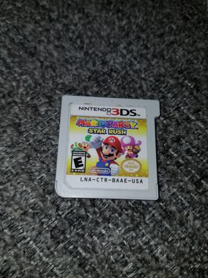MARIO PARTY STAR RUSH 3DS/2DS for Sale in Austin, TX