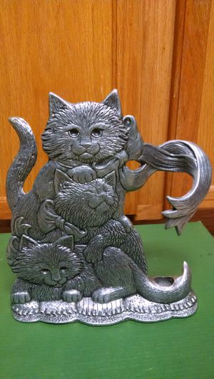 Cat Candle Holder for Sale in Raleigh, NC