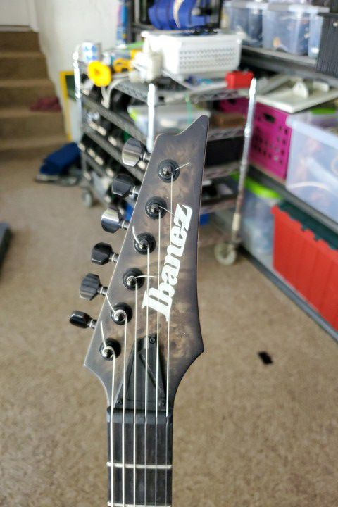 Ibanez Iron Label Electric Guitar RGDIX6PB