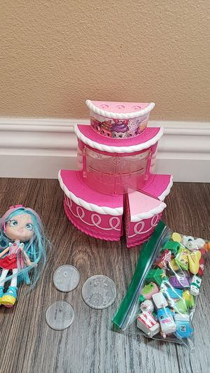 Shopkins with doll and shopkins for Sale in Westminster, CA