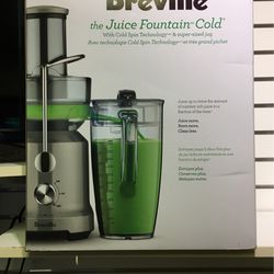 Breville The Juice Fountain Cold Juicer NEW for Sale in Taunton,  MA