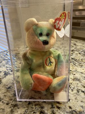 Signature Peace beanie baby for Sale in Spring Branch, TX