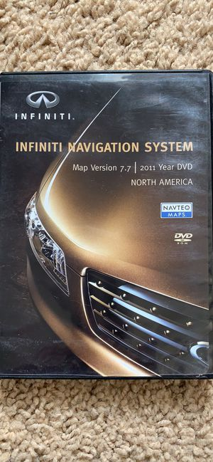Infiniti/Nissan Navigation System 2011 Map Version 7.7 for Sale in Fountain, CO