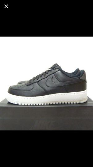 Nike airforce 1 black leather for Sale in Tampa, FL
